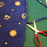Out of this world (Upcycling bed sheets)