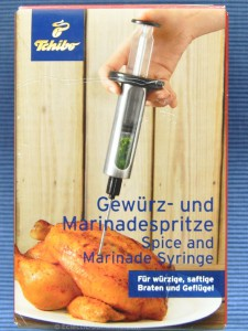 ED marinade injector 225x300 Buffalo grilled turkey breast with melted blue cheese