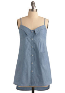 Modcloth's back-of-the pickup tunic