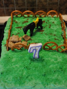 Every cowboy should also have a cowboy cake.