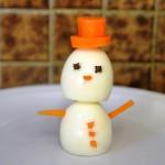 Eggy the snowman