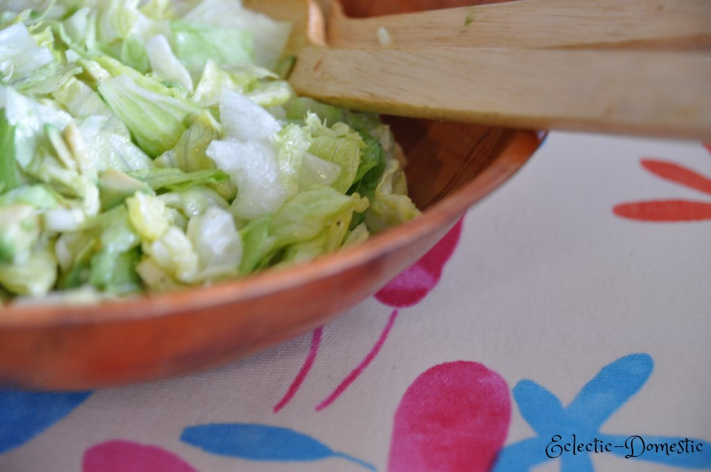 Easy guacamole salad